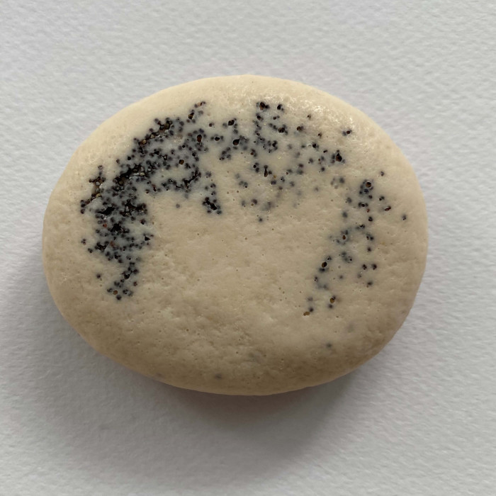 THE SIGNATURE STONE | DONKEY MILK + GHASSOUL CLAY + POPPY SEEDS - SCENTED TOBACCO WOODS