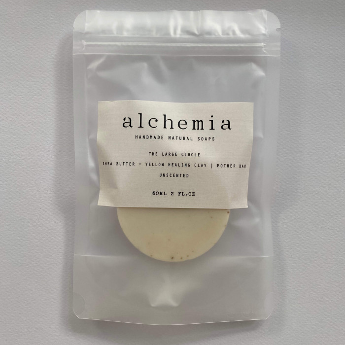 THE LARGE CIRCLE | SHEA BUTTER + YELLOW CLAY - UNSCENTED | MOTHER BAR